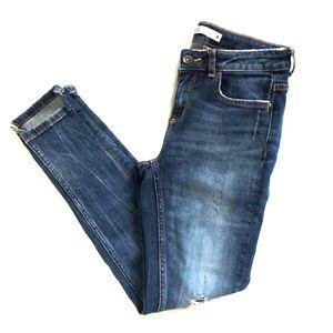 Sweet Zara ankle skinny mid rise jeans